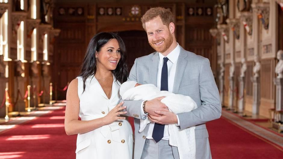 Herzogin Meghan + Prinz Harry: Drei Kindermädchen in nur sechs Wochen
