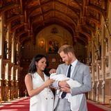 Herzogin Meghan + Prinz Harry: Die frisch gebackenen Eltern sind ganz vernarrt in ihr erstes Kind.