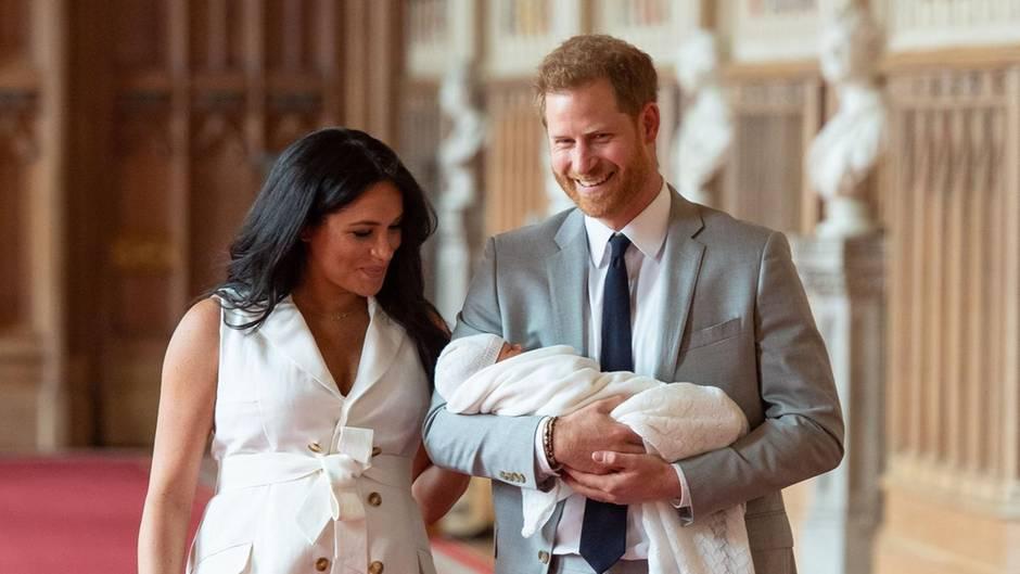 Herzogin Meghan + Prinz Harry: Archie soll ein ganz normales Leben führen