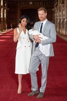 Prinz Harry + Herzogin Meghan: Krankenhaus oder zuhause? Hier wurde Baby Archie geboren