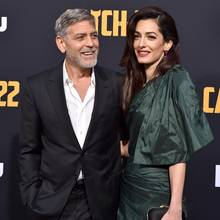 George Clooney + Amal Clooney