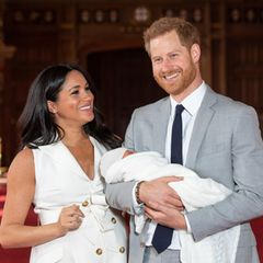 Herzogin Meghan, Archie Harrison Mountbatten-Windsor, Prinz Harry