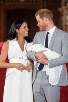 Herzogin Meghan, Prinz Harry und Archie Harrison