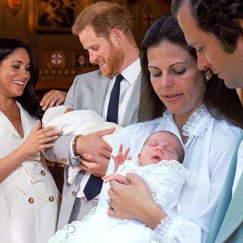 Prinzenbabys: Auf dem Weg nach Hause