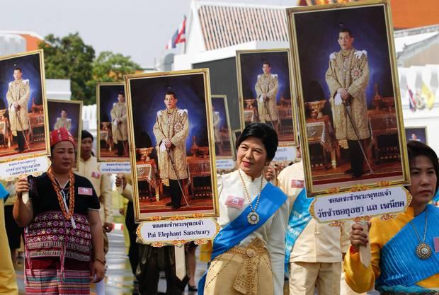 8. Mai 2019  Die Feierlichkeiten zur Krönung von König Maha von Thailand gehen in die nächste Runde.