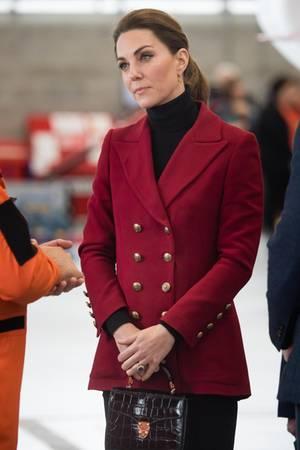 Den Blazer haben wir 2017 bereits an Herzogin Catherine gesehen.