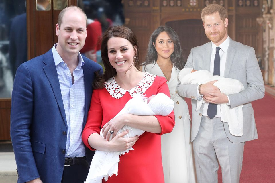 Prinz William + Herzogin Catherine, Herzogin Meghan + Prinz Harry
