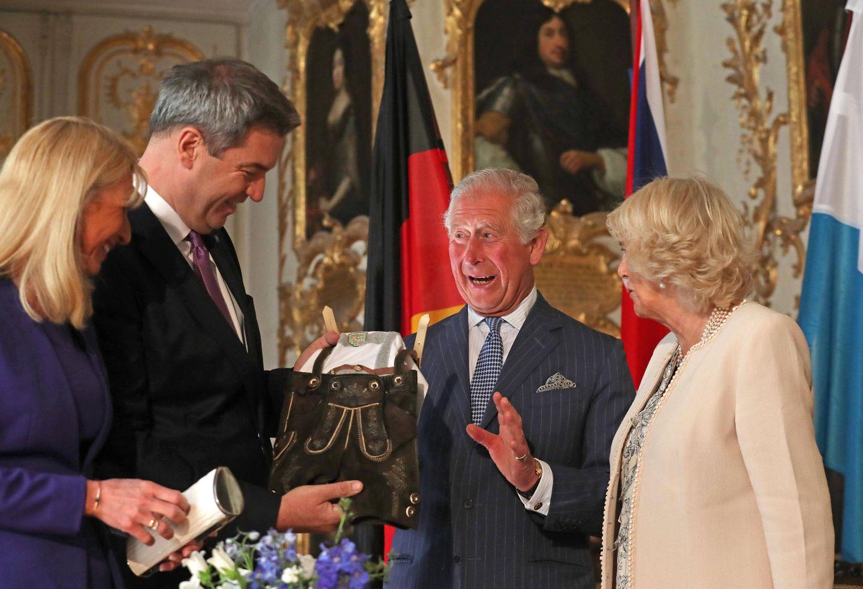 Karin Baumüller-Söder, Markus Söder, Prinz Charles, Herzogin Camilla
