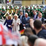 Markus Söder, Prinz Charles, Herzogin Camilla,Karin Baumüller-Söder