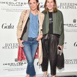 Mode-Unternehmerin Annette Weber (re.) mit Begleitung.