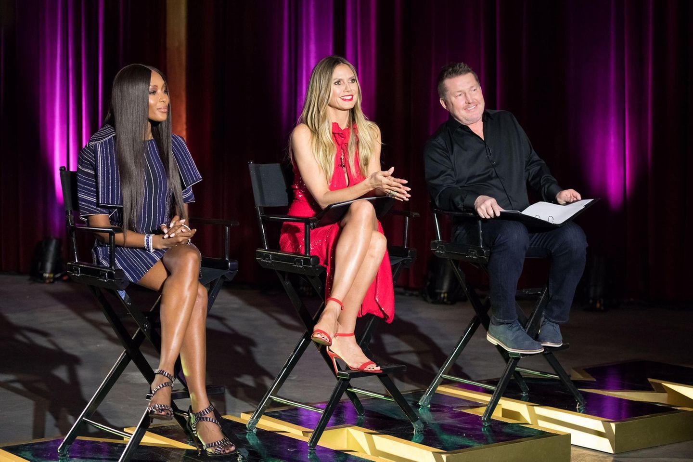 """Hoher Besuch bei """"Germany's next Topmodel"""": Naomi Campbell entscheidet mit, wer ins Halbfinale kommt"""