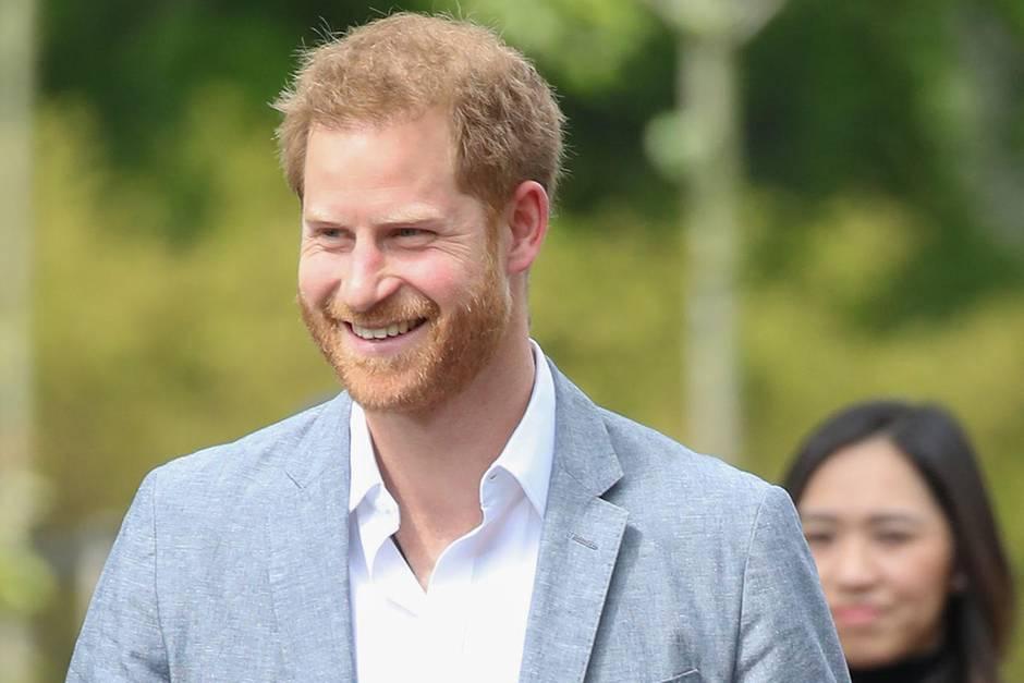 83ec313c4b Prinz Harry: Er spricht über sein neues Dasein als Papa von Archie ...