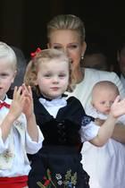 Prinzessin Gabriella, Prinz Jacques, Fürst Albert, Fürstin Charlène