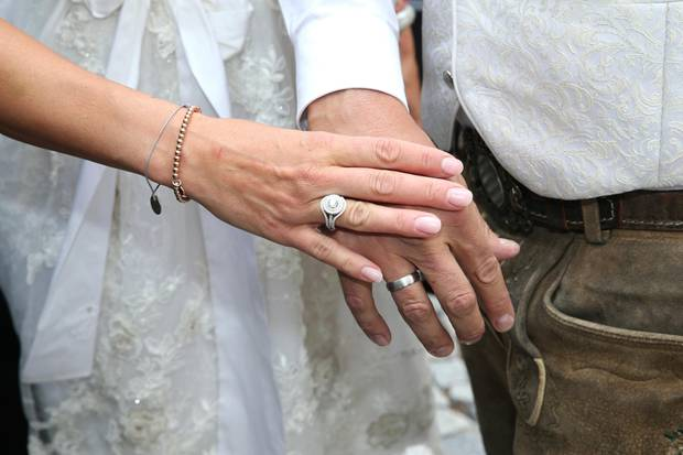 Ex-Frau von Michael Ballack: Simone Ballack heiratet ihren Jugendfreund