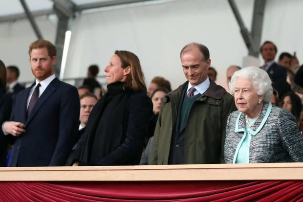 Prinz Harry, Queen Elizabeth
