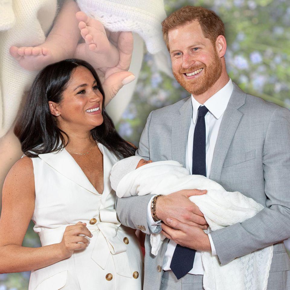 Muttertagsüberraschung! Herzogin Meghan und Prinz Harry veröffentlichen ein neues Foto von Master Archie-