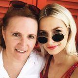 Lena Gercke bedankt sich bei ihrer Mutter für all die langen Telefonate, ihren trockenen Humor und die Liebe.
