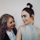 """""""Alles Gute zum Muttertag an meine beste Freundin, ständige Vertraute, Partner in Crime und ultimative Inspiration"""", schreibt Lily Collins zu dem schönen Foto, auf dem sie und ihre Mutter Jill Tavelman zu sehen sind."""