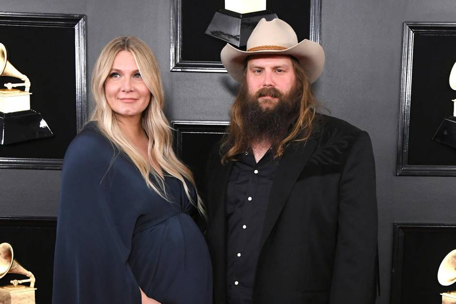 Chris Stapleton und seine Frau Morgane