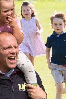 "Mike Tindall: ""Prinz George, Prinzessin Charlotte, Mia Tindall und Co. sind gute Freunde"""
