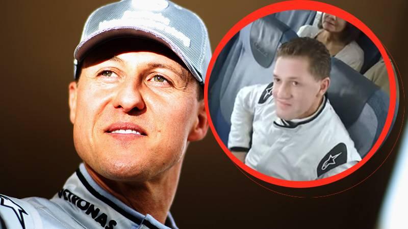 Geschmackloses Video: Fluggesellschaft wirbt mit Michael-Schumacher-Double