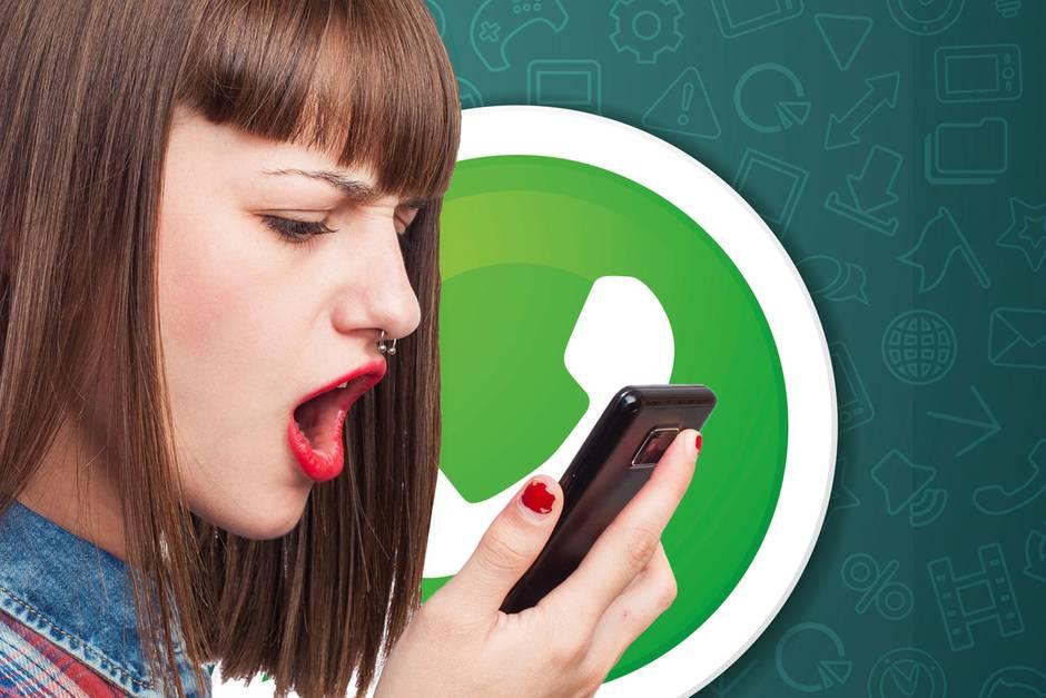 WhatsApp-Userin zeigt sich entsetzt