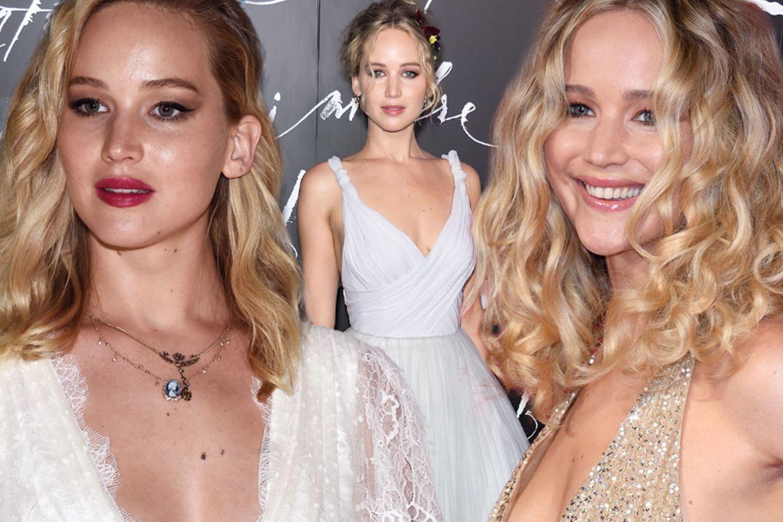 Jennifer Lawrence: Im Brautkleid zur Verlobungsfeier  GALA.de