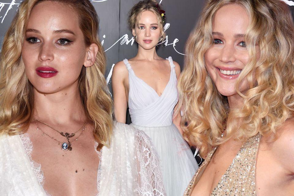 Jennifer Lawrence im Brautmodus.