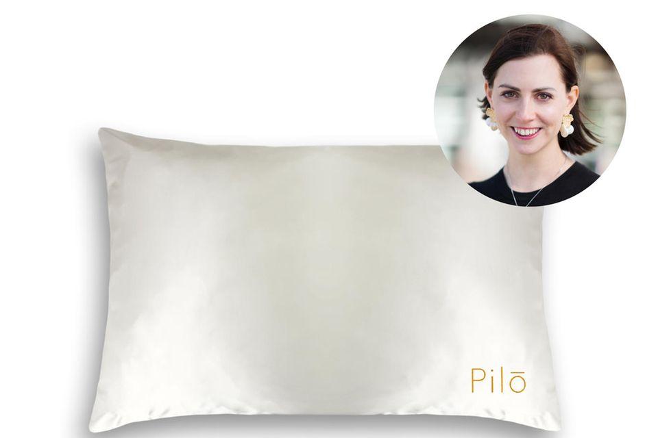 Redakteurin Kathrin testet im Schlaf - das ganz besondere Kissen vonPilō.