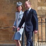 Herzogin Catherine und Prinz William werden auf der Hochzeit von Lady Gabriella Windsor erwartet.