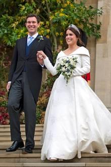 Am 12. Oktober 2018 heiratet Prinzessin Eugenie ihren Verlobten Jack Brooksbank.