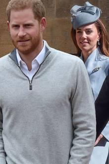 Prinz Harry, Herzogin Catherine, Prinz William, Queen Elizabeth