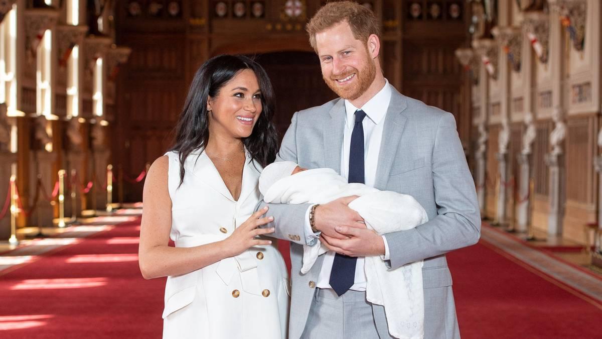Wer wird Pate von Baby Archie?