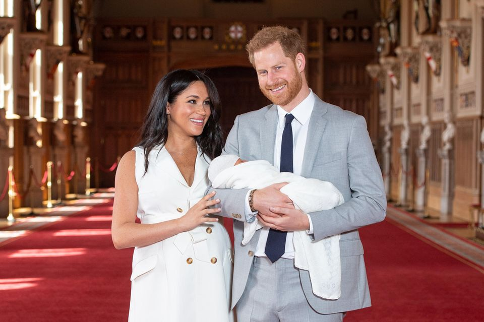 Herzogin Meghan, Archie Harrison Mountbatten-Windsor, Prinz Harry