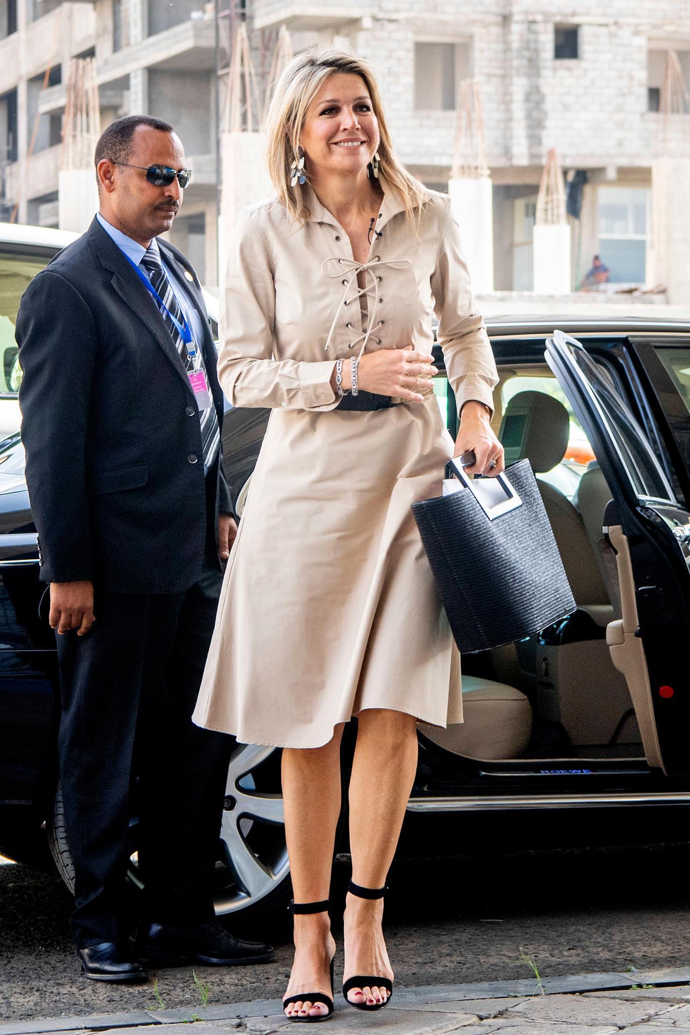 Königin Maxima, 2019 in Äthiopien.