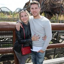 Joey Heindle mit Freundin Ramona Elsener