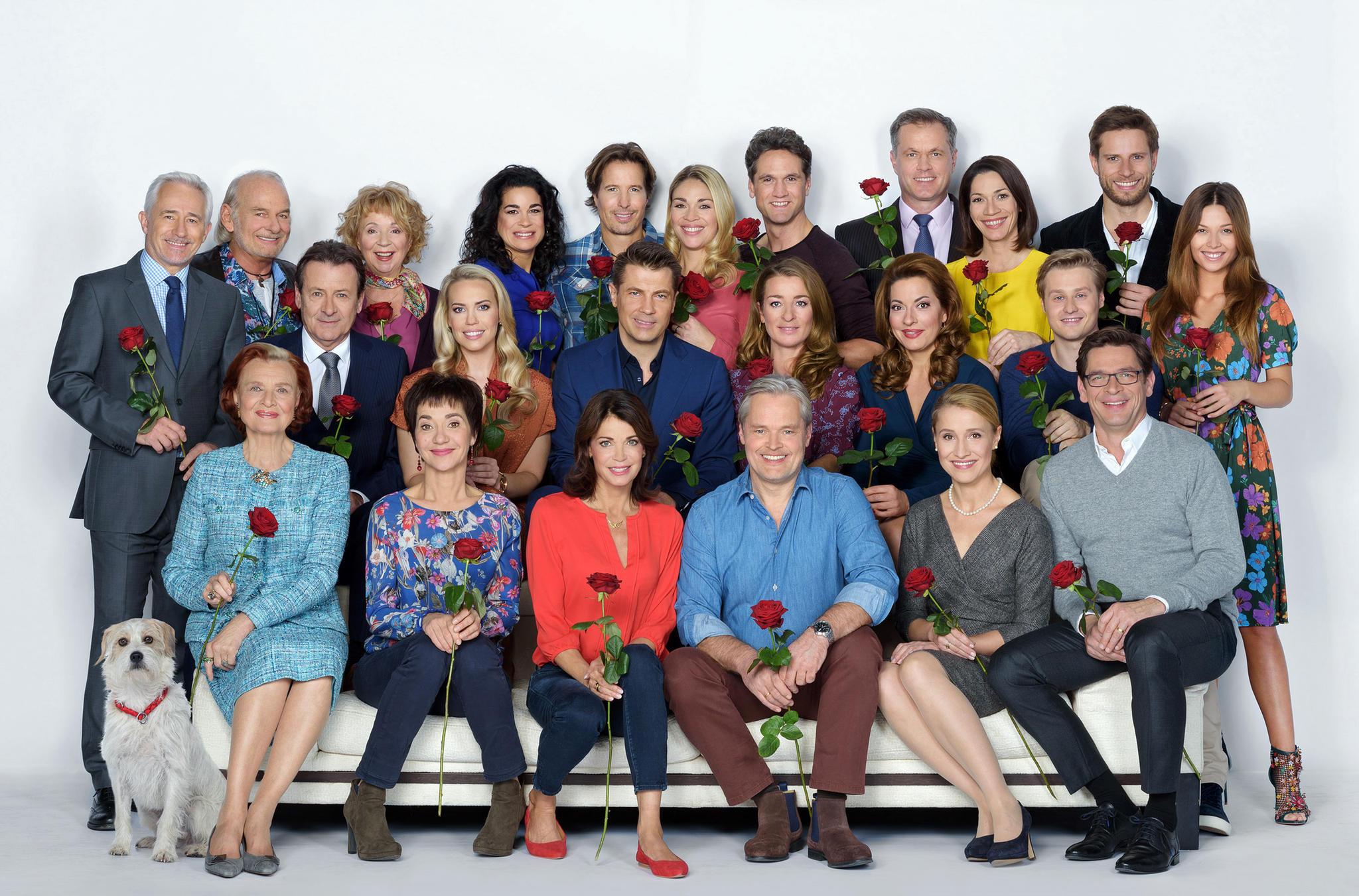 """Der Cast der 16. Staffel von """"Rote Rosen"""""""