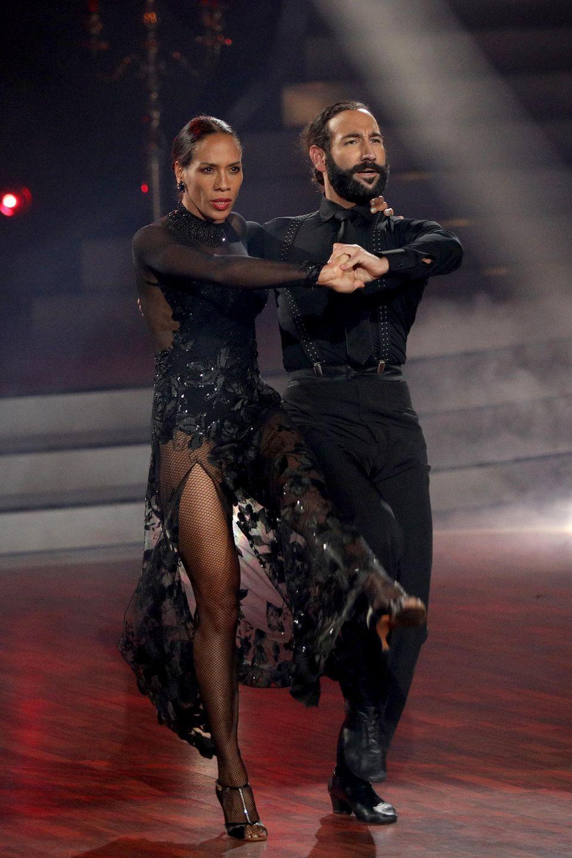 Barbara Becker nahm dieses Jahr mit Profitänzer Massimo Sinatóbei Let's Dance teil.