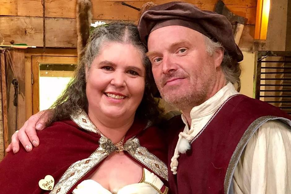 Romantische Mittelalter-Hochzeit von Petra und Norbert