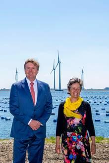 15. Mai 2019  Gut zwei Jahre befand sich der Windpark im Bau. Er umfasst 34 Windräder und wird in Zukunft mehr als 100.000 Haushalte mit Ökostrom versorgen.