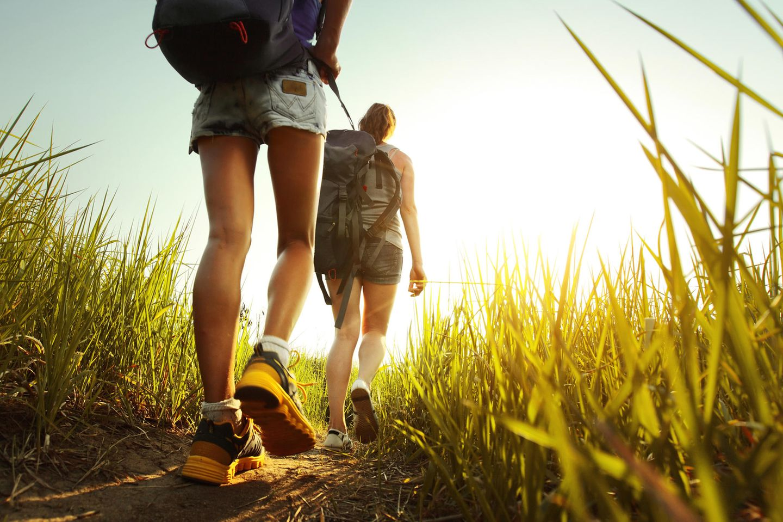 Wandern: Der Aufenthalt in der Natur senkt den Stresspegel enorm