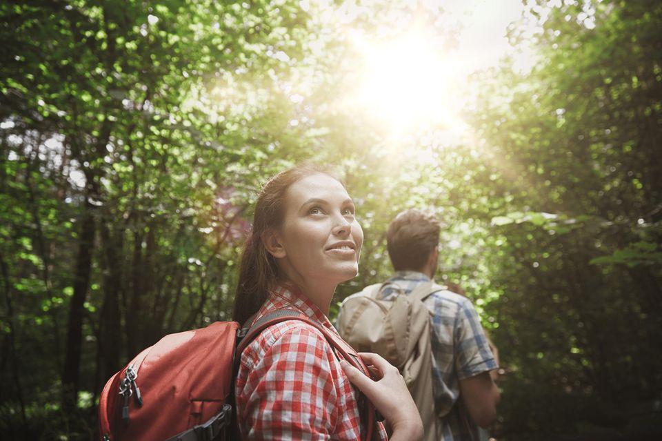 Wandern tut der Seele und der Stimmung gut.