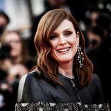 Schauspielerin Juliane Moore auf dem Roten Teppich in Cannes.