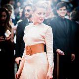 Schauspielerin Amber Heard posiert gekonnt für die Fotografen.