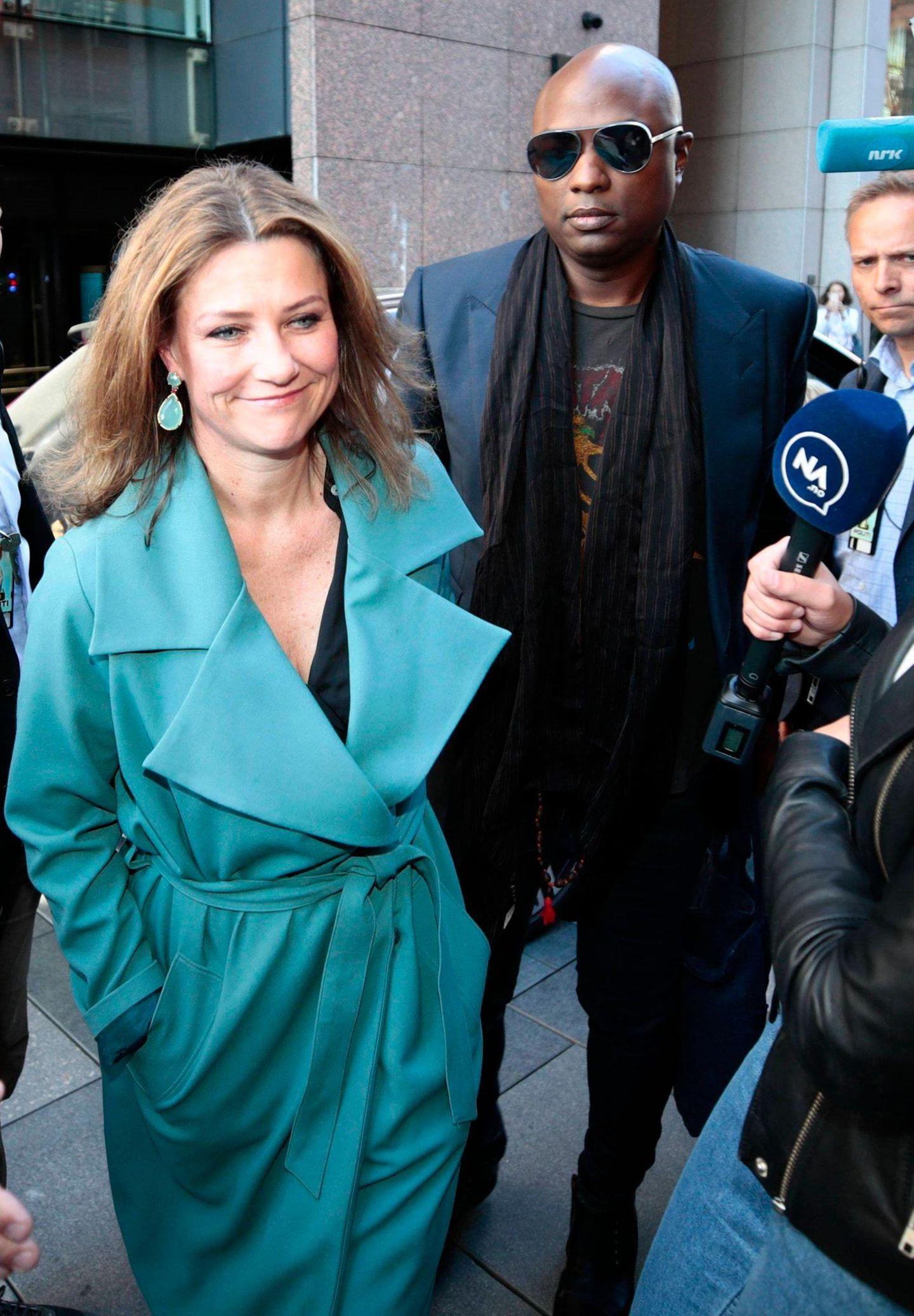 Märtha Louise von Norwegen, Durek Verrett