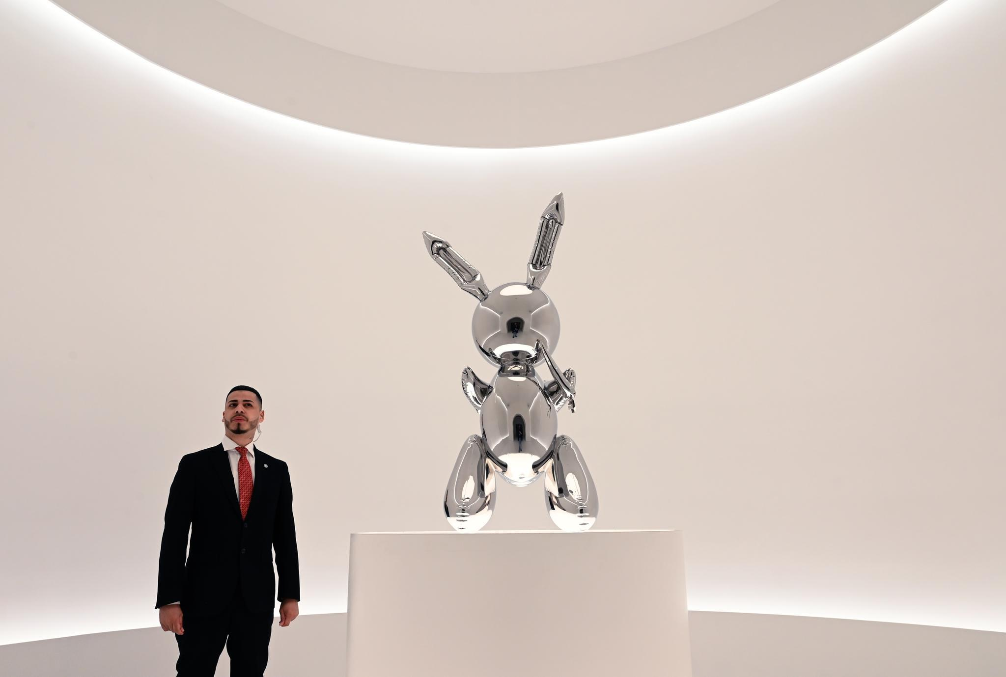 "Jeff Koons ""Rabbit"""
