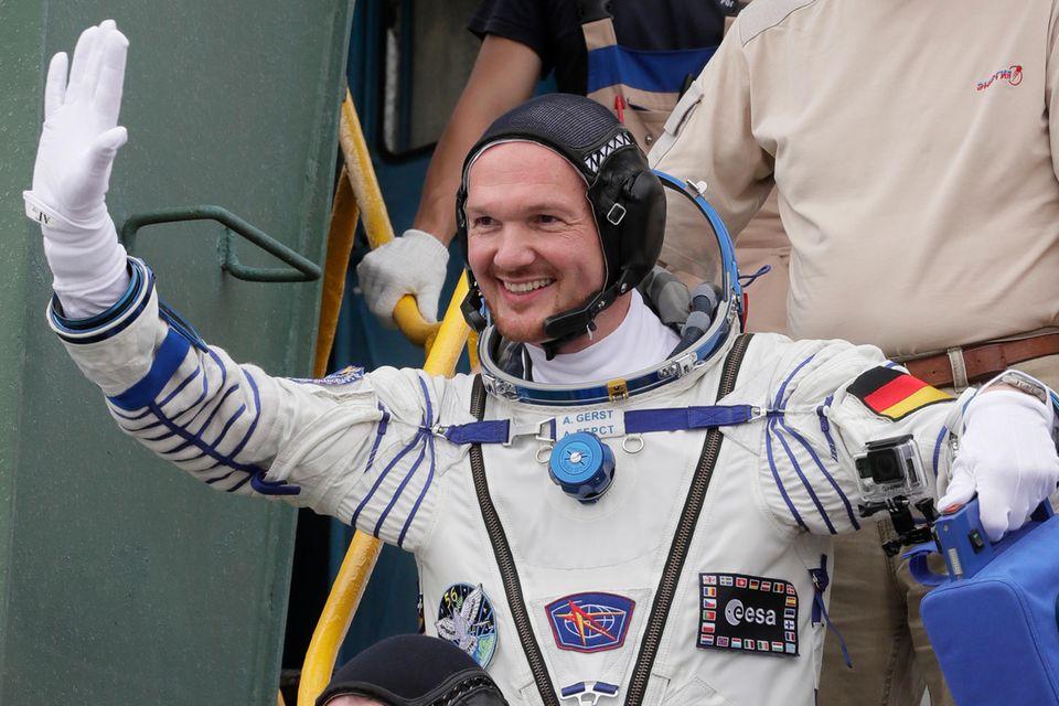 Alexander Gerst trat bereits zwei Raumflüge an.