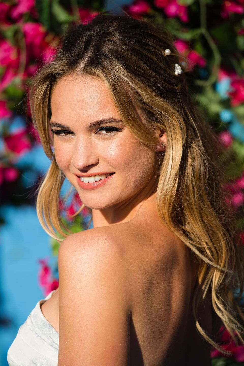 Lily James Starportrat News Bilder Gala De