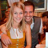 Florian Stadler mit Freundin Martina Auer