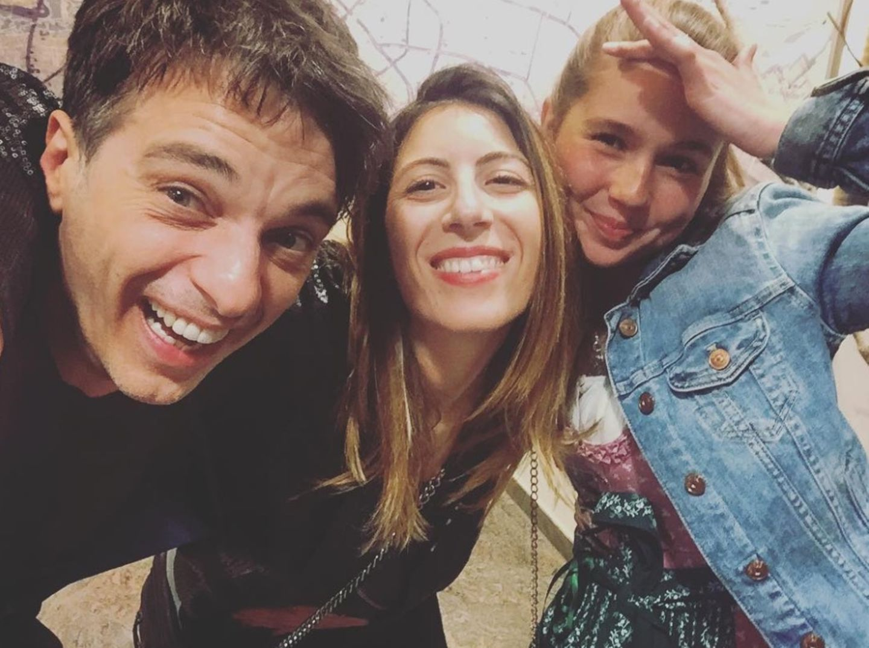 """Lorenzo Patané mit Ehefrau Alessandra und """"Sturm der Liebe""""-Tochter Paulina Hobratschk"""